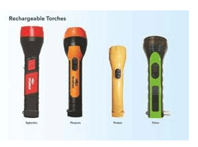 Rechargeable Nippo LED Torches