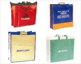 Custom Logo Printed Carry Bags