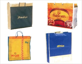 Logo Printed Carry Bags