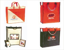Promotional Logo Printed Carry Bags