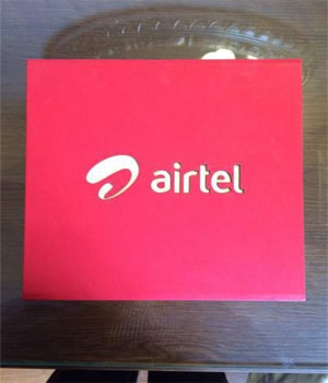 Custom Airtel Gift Chocolate Pack