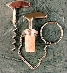 Putter Cork Screw and Wine Stopper Set