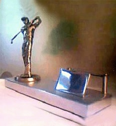 Without the Pen Caddy Golfer Table Top