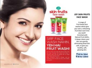 Joy Skin Fruits Face Wash
