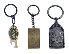 Promotional Brass Key Rings