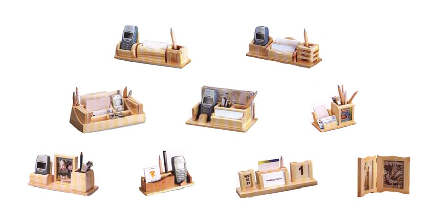 Table Top Wooden Items