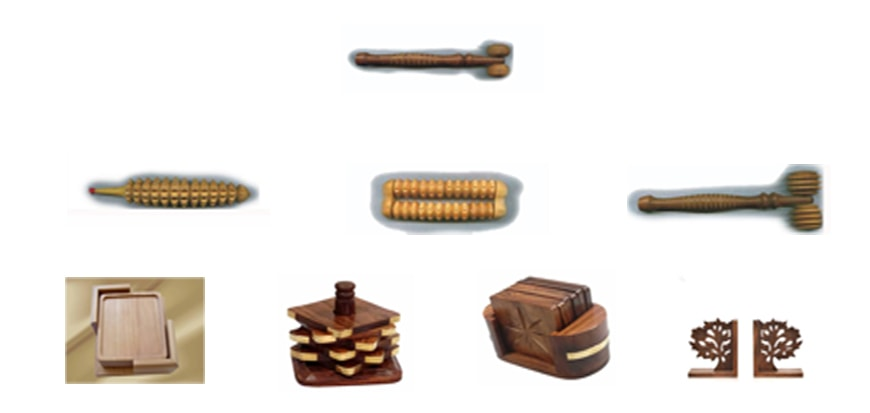 Wooden Stress Items