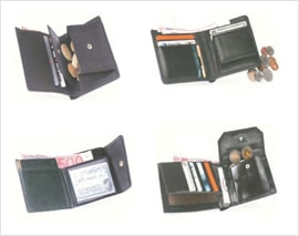 Nylon Fabric Wallets