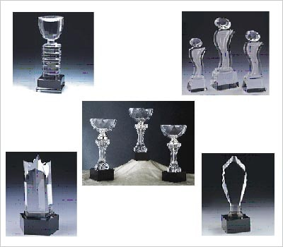 Custom Glass Trophies