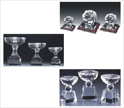 Promotional Crystal Trophies