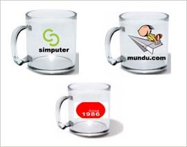 Promotional Glass Mugs