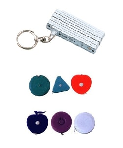 Measure Tape Keychains