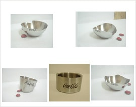 Stainless Steel Peanut Bowls