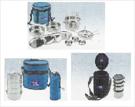 Stainless Steel Tiffin Sets