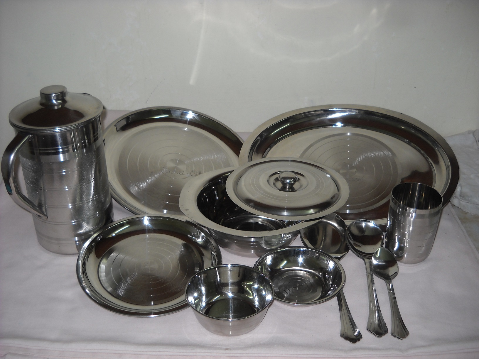 Stainless Steel Trays Ice Buckets